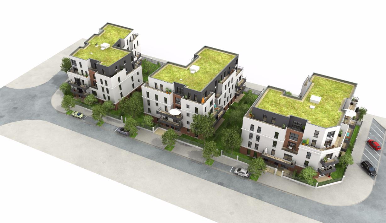 Plan 3d et visite virtuelle 3d immobilier pour vendre for Appartement en 3d